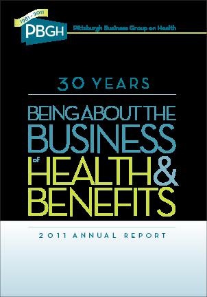 Annual Report Portfolio Example 4 - P Green Design