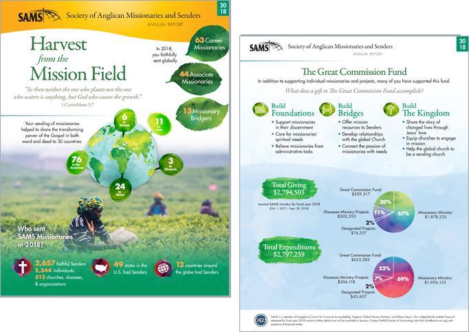Annual Report Portfolio Example 7 - P Green Design