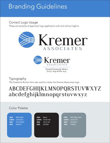 Branding Style Guide Portfolio Example 3 - P Green Design