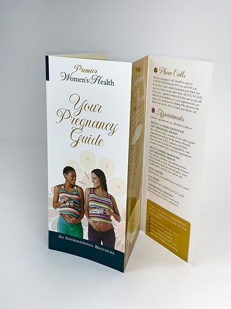 Brochure Portfolio Example 4 - P Green Design