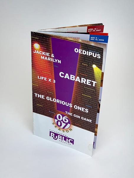 Brochure Portfolio Example 7 - P Green Design