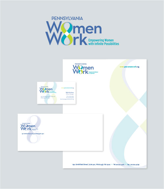 Branding: Logos & Stationery Portfolio Example 5 - P Green Design