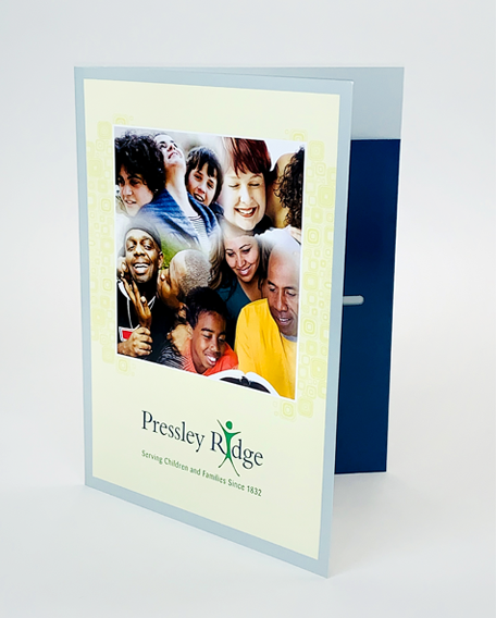 Presentation Folders Portfolio Example 6 - P Green Design