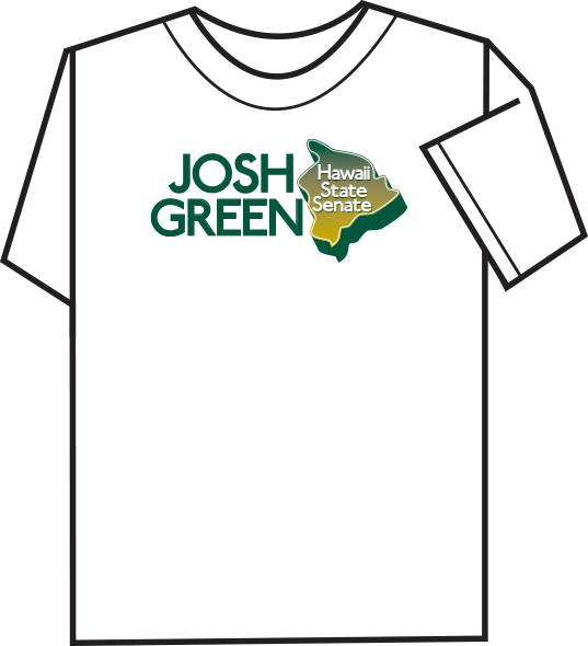 T-Shirt Portfolio Example 1 - P Green Design