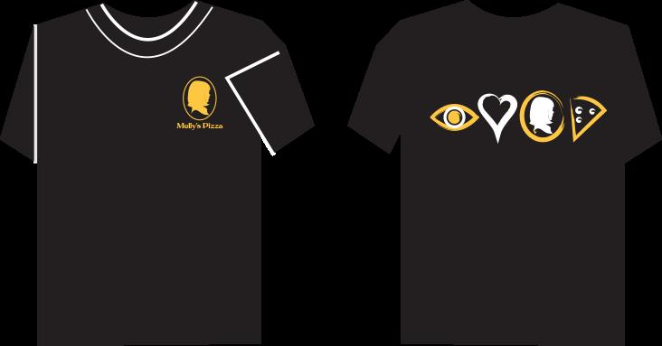 T-Shirt Portfolio Example 5 - P Green Design