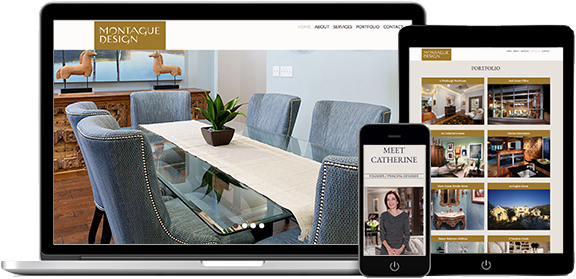 Websites Portfolio Example 1 - P Green Design
