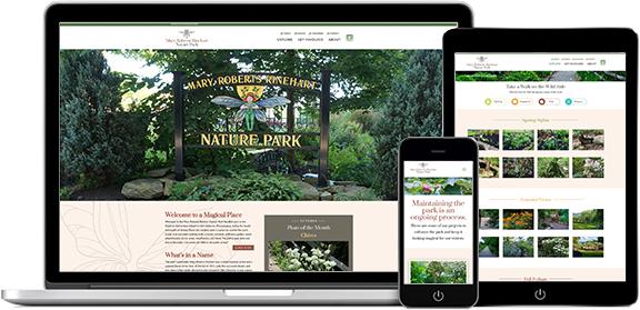 Websites Portfolio Example 3 - P Green Design