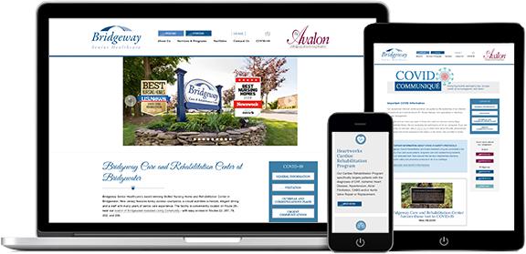 Websites Portfolio Example 4 - P Green Design