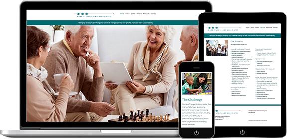 Websites Portfolio Example 6 - P Green Design