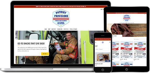 Websites Portfolio Example 7 - P Green Design