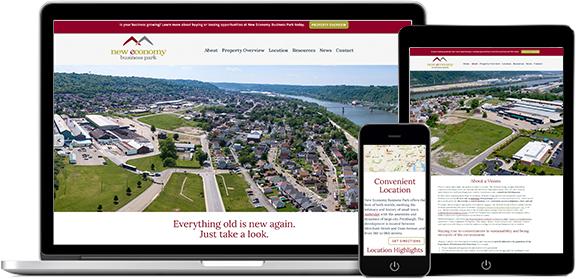 Websites Portfolio Example 8 - P Green Design
