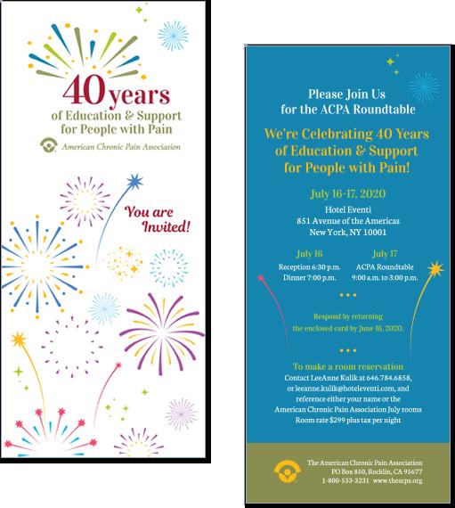 Invitations & Greeting Cards Portfolio Example 1 - P Green Design