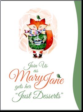 Invitations & Greeting Cards Portfolio Example 5 - P Green Design