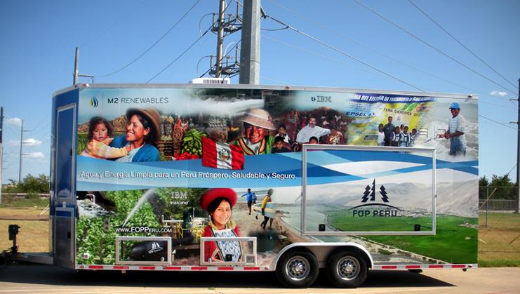 Signage, Billboards, and Vehicle Wraps Portfolio Example 4 - P Green Design